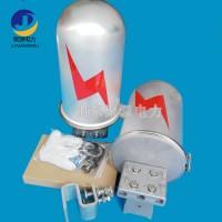 光缆接头盒杆塔用接线盒 立式金属24芯接头盒