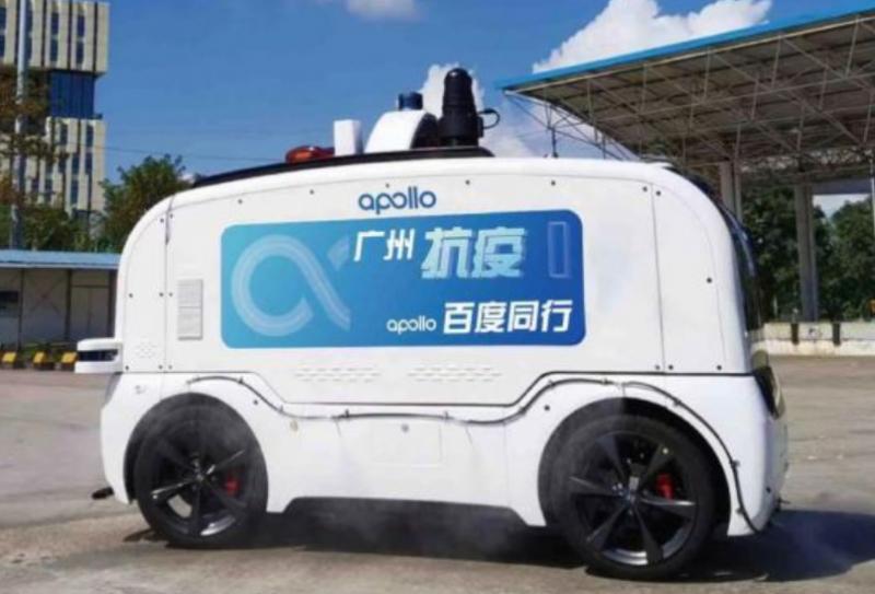 """百度Apollo的自动驾驶车队用科技力量守护广州荔湾区""""大后方"""""""