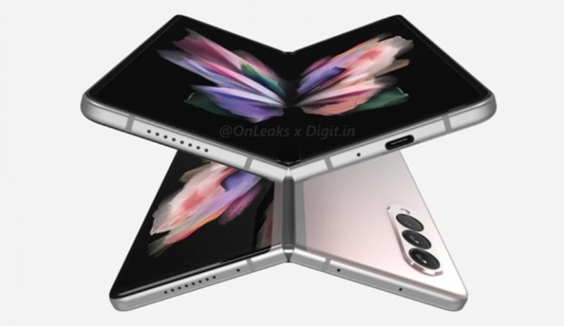 三星Galaxy新品发布会发布GalaxyZ Fold3和GalaxyZ Flip3两款折叠屏手机
