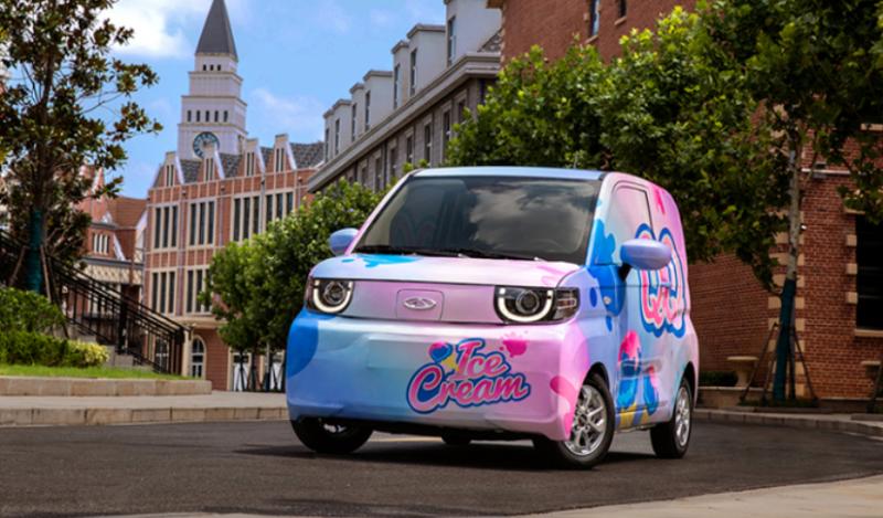 全新奇瑞QQ冰淇淋将亮相成都车展 对标宏光MINIEV